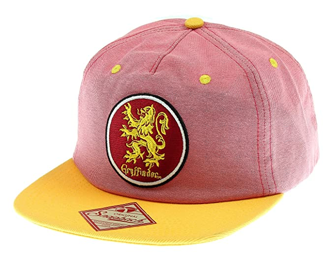 43494689f5ace Image Unavailable. Image not available for. Color  Harry Potter Gryffindor  House Oxford Snapback Hat Cap