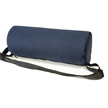 Amazon.com: Roll silla de postura espalda cojín lumbar ...