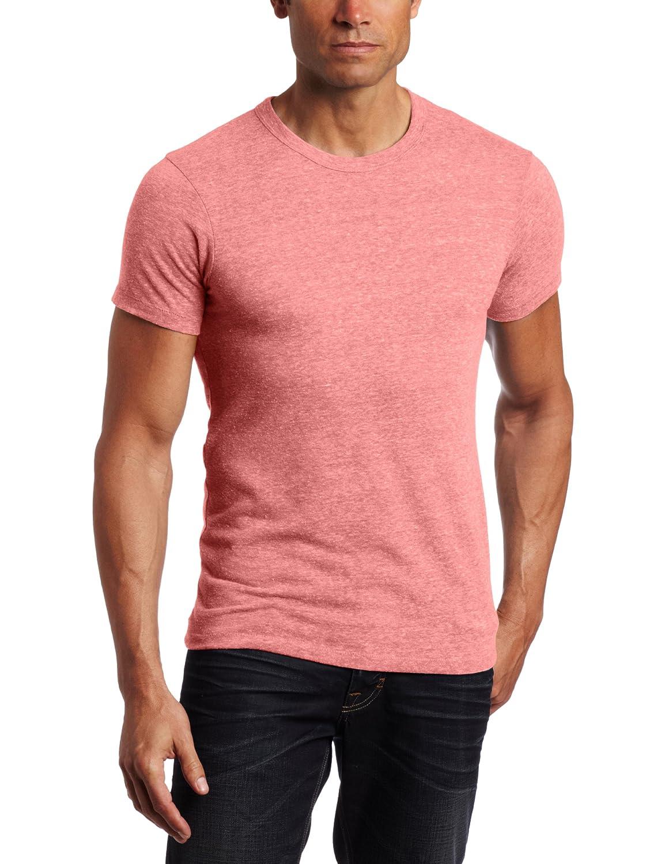 Amazon.com: Alternative Apparel Men\'s Eco Crew T-Shirt: Chandu: Clothing