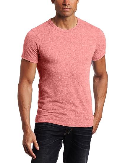 9f399542f Amazon.com  Alternative Apparel Men s Eco Crew T-Shirt  Chandu  Clothing