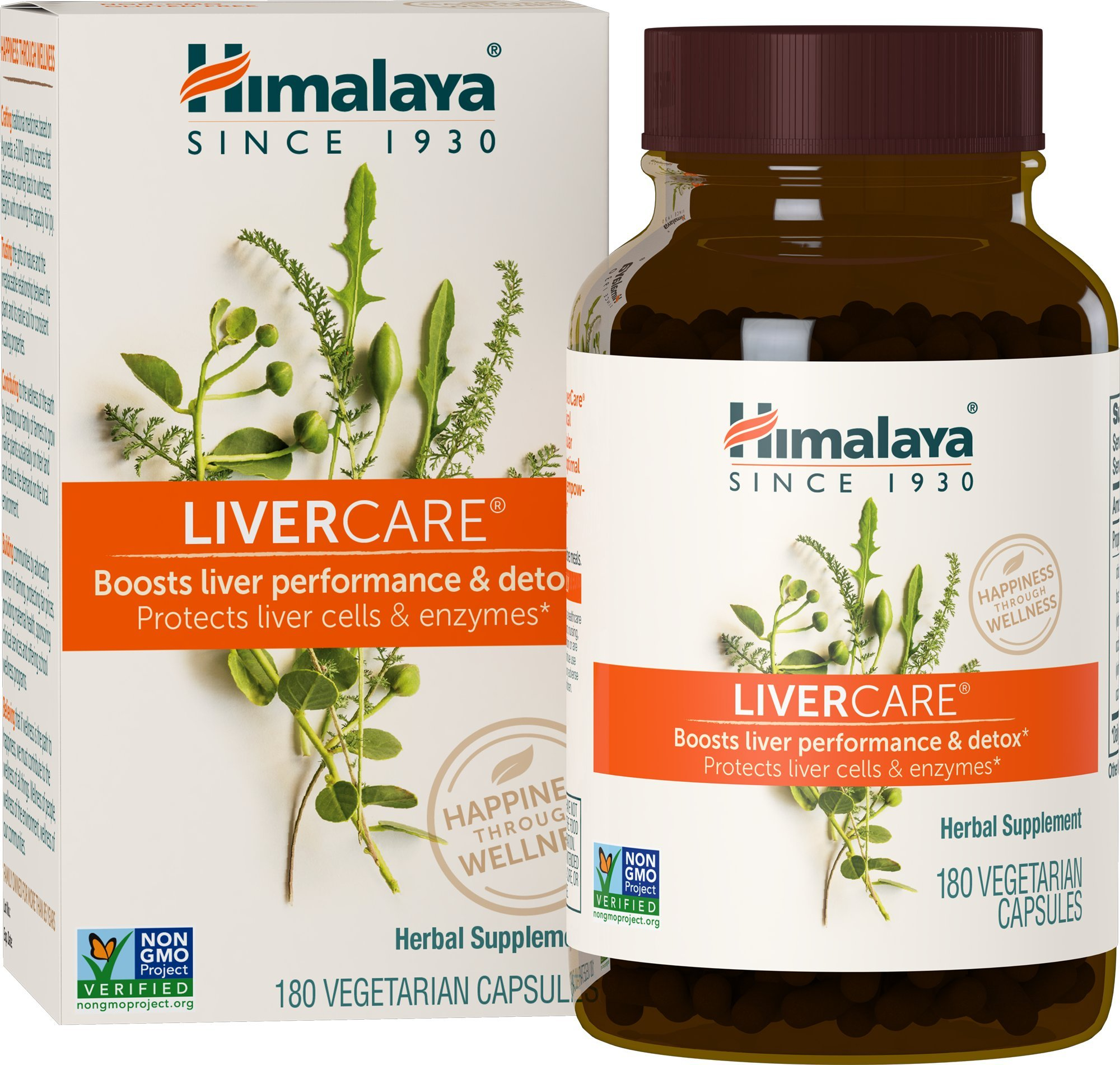 Himalaya LiverCare/Liv. 52 for Liver Cleanse and Liver Detox 375 mg, 180 Capsules, 90 Day Supply by Himalaya Herbal Healthcare
