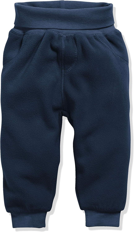 bequeme Kinder-Hose mit elastischem Strick-Bund Schnizler Baby Pump-Hose aus Fleece