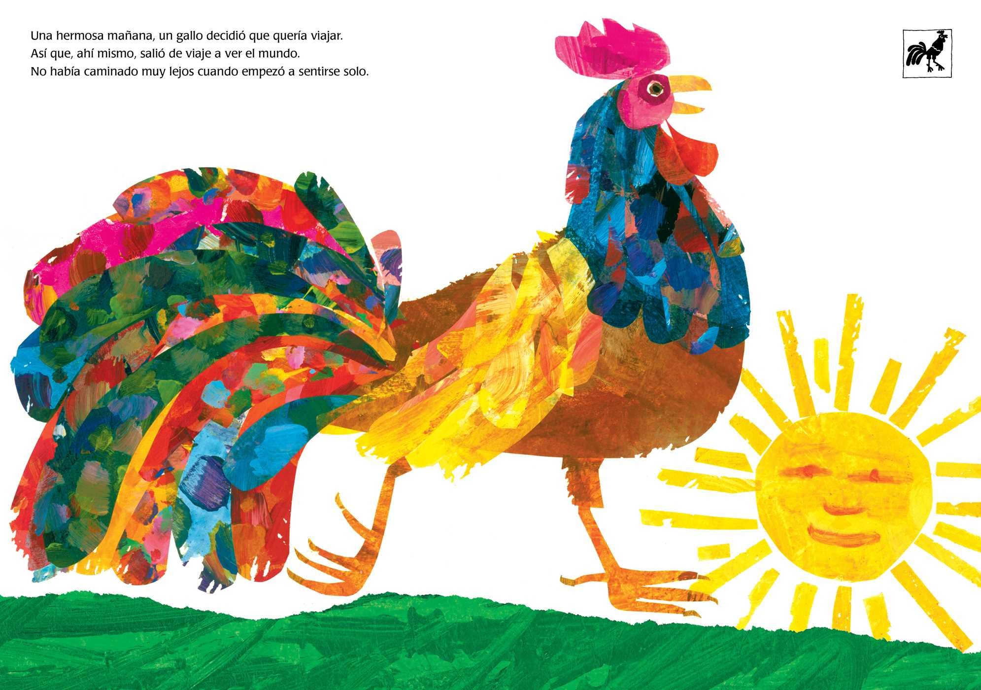El gallo sale a ver el mundo (Roosters Off to See the World) (The World of Eric Carle) (Spanish Edition): Eric Carle: 9781534424470: Amazon.com: Books
