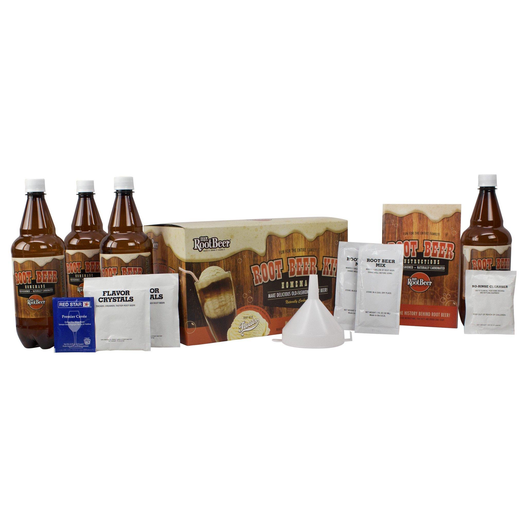 Mr. Root Beer Home Brewing Root Beer Kit by Mr. Root Beer