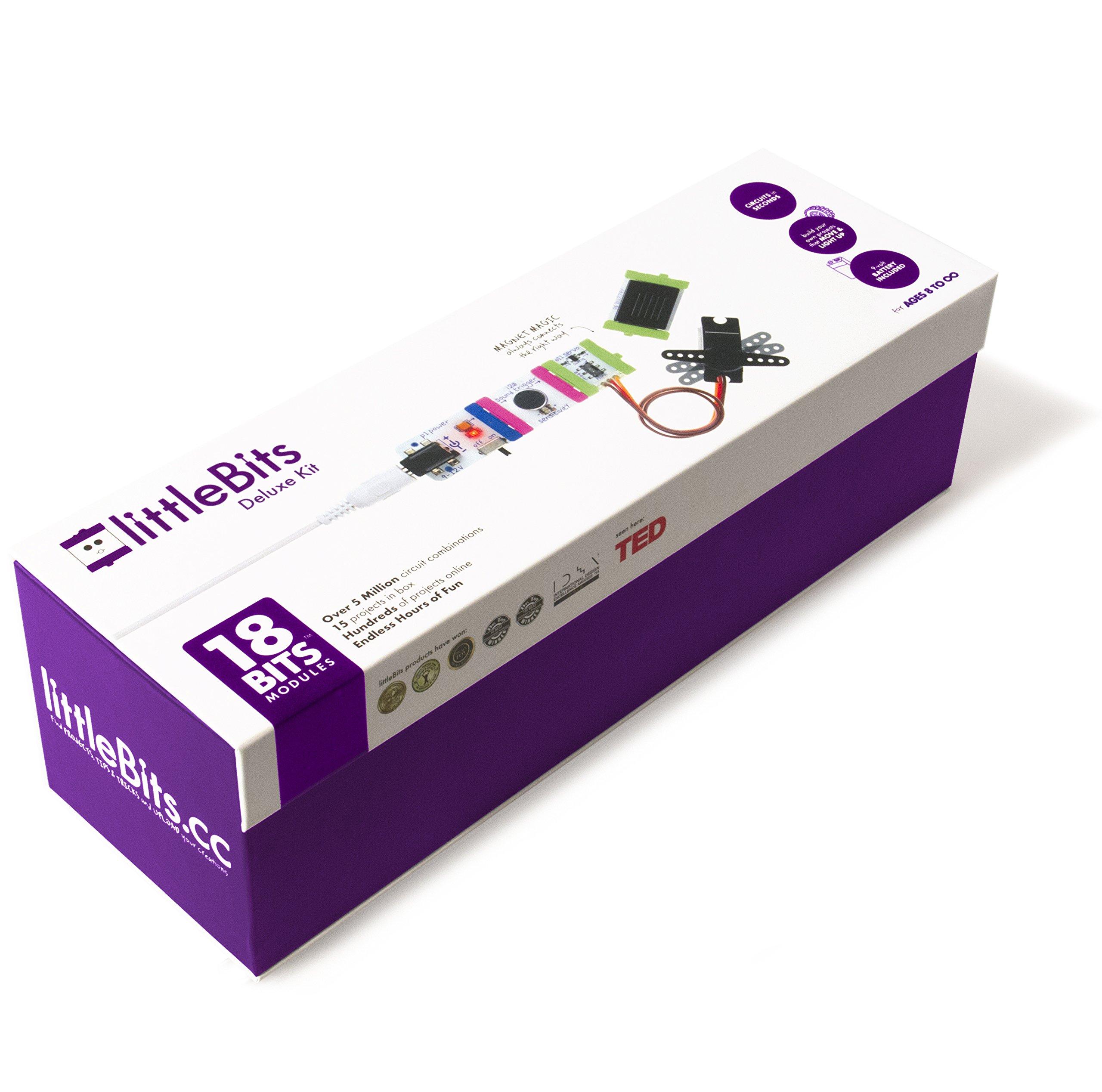littleBits Electronics Deluxe Kit by littleBits Electronics (Image #2)