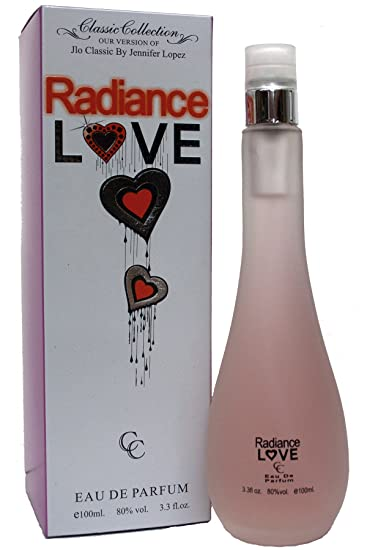 Radiance Love Glow Perfume For Her 3.3 oz Eau de Parfum (Imitation)