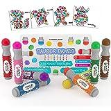 8-pack Washable Dot Markers / Bingo Daubers Dabbers Dauber Dawgs Kids / Toddlers / Preschool / Children Art Supply 3 Pdf…