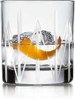 product image for Libbey Cut Cocktails Structure Rocks Glasses, Set of 4