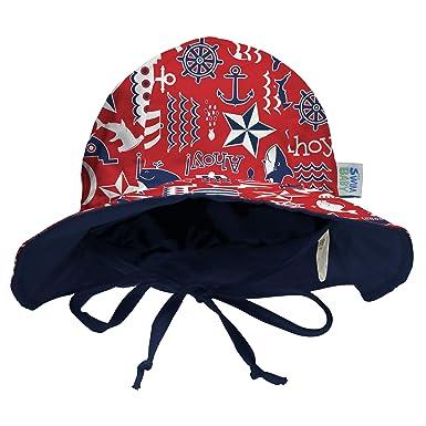 b2c41a7f Amazon.com: My Swim Baby Sun Hat: Clothing