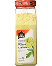 Club House, Quality Natural Herbs & Spices, Ground Mustard, 450g