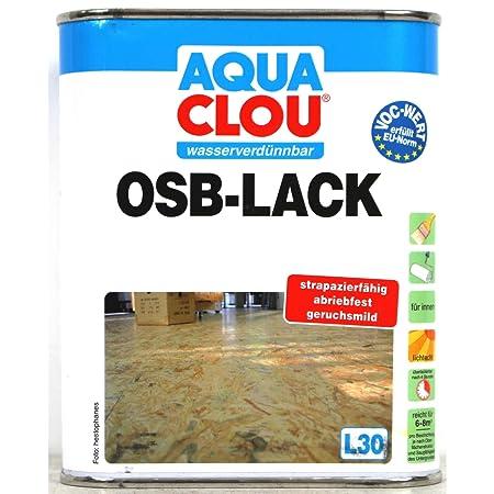 Osb Lack aqua clou osb lack l30 2 5l amazon co uk diy tools
