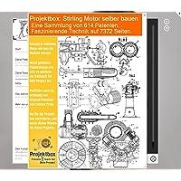 Stirling Motor selber bauen: Deine Projektbox inkl. 614 Original-Patenten bringt Dich mit Spaß ans Ziel!