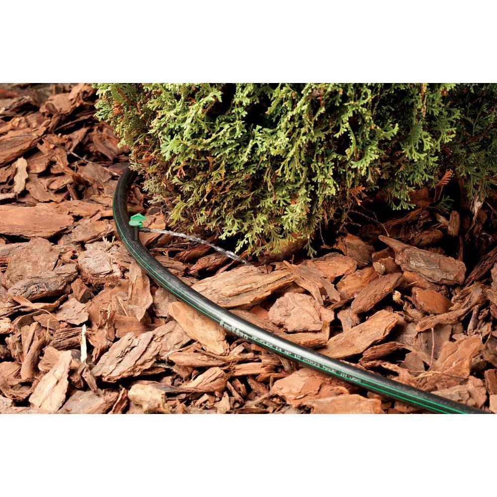 .630 OD Blank Distribution Tubing Rain Bird T63-500S Drip Irrigation 1//2 Black 500 Roll