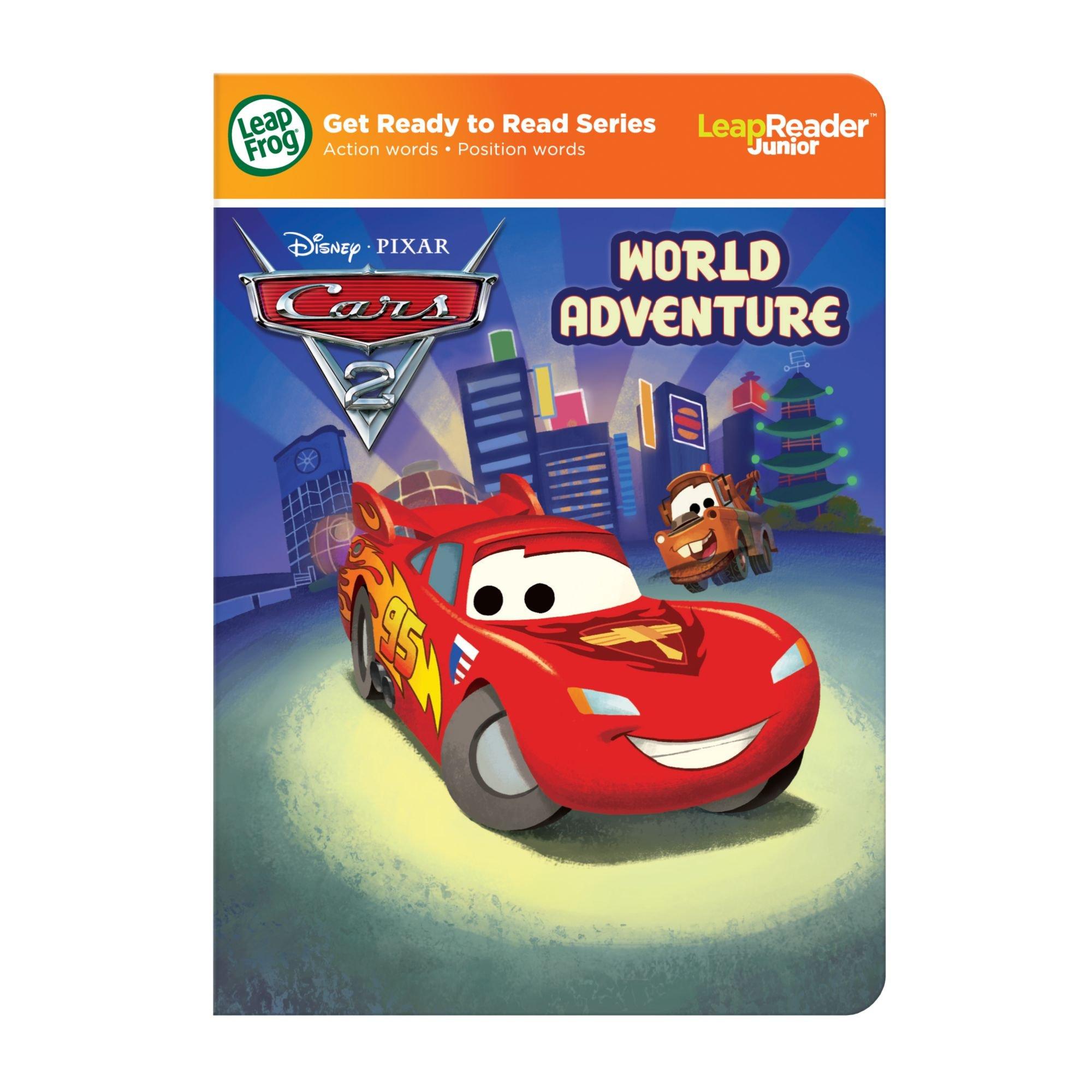 Leapfrog LeapReader Junior Book: DisneyPixar Cars 2: World Adventure (works with Tag Junior) by LeapFrog (Image #7)