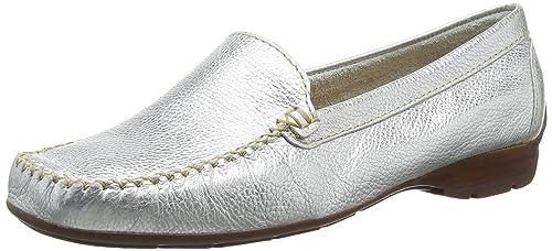 Van Dal Sanson - Zapatos Sin Cordones de Otra Piel Mujer, Color Plata - Silver (Metallic), Talla 42 EU: Amazon.es: Zapatos y complementos