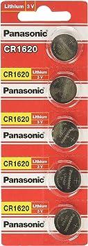 Panasonic Cr1620 3v Lithium Cell Battery Elektronik
