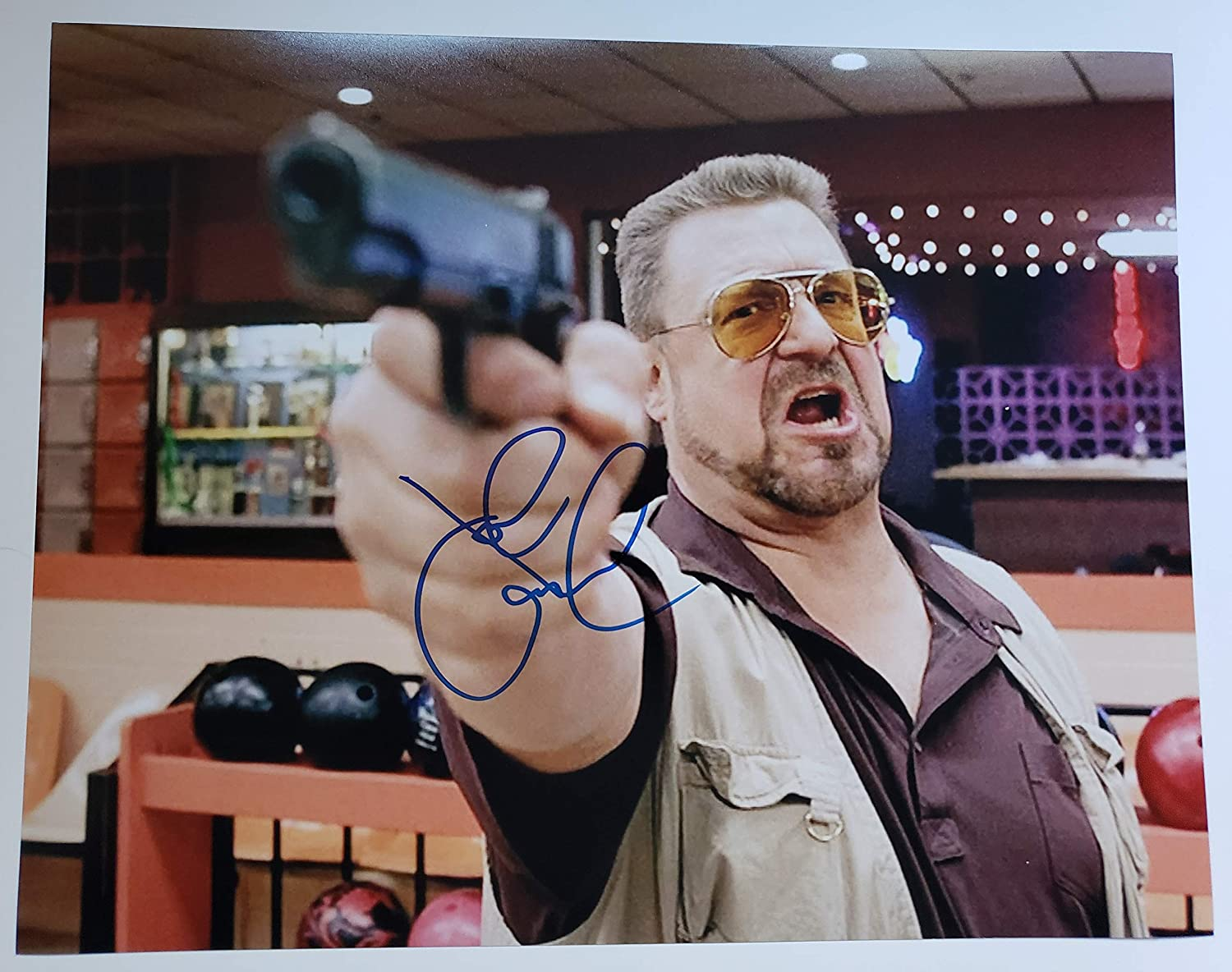 14f4f21ce9 John Goodman autographed 11x14 photograph Walter Sobchak The Big Lebowski  at Amazon s Entertainment Collectibles Store