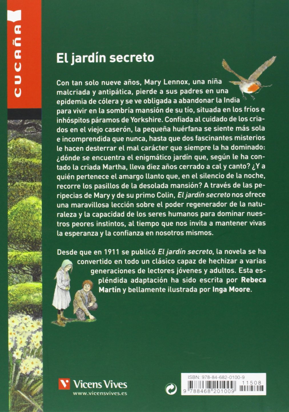 El Jardín Secreto: 55 (Colección Cucaña): Amazon.es: Martin Lopez, Rebeca, Moore, Inga, Martin Lopez, Rebeca: Libros
