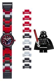 4290cbf692a2 Reloj modificable infantil de Darth Vader de LEGO Star Wars 8020301 con  pulsera por piezas y
