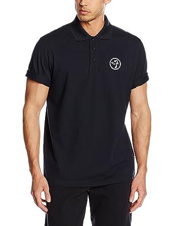 Zumba Fitness® Poppin Collar Polo Camiseta sin Mangas, Hombre ...