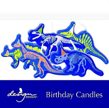 Diseño Diseño 758 - 08917 dinosaurios cumpleaños velas ...