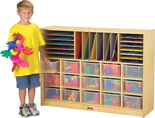 Jonti-Craft Sectional Cubbie Mobile Unit
