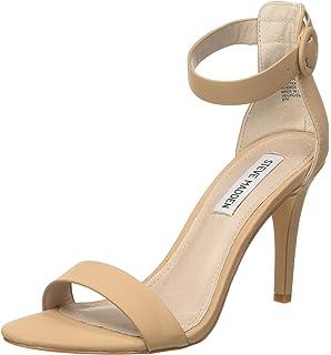 Steve Madden Fancci Suede, Chaussures à Talons avec Bride à la Cheville Femme, , 36 EU