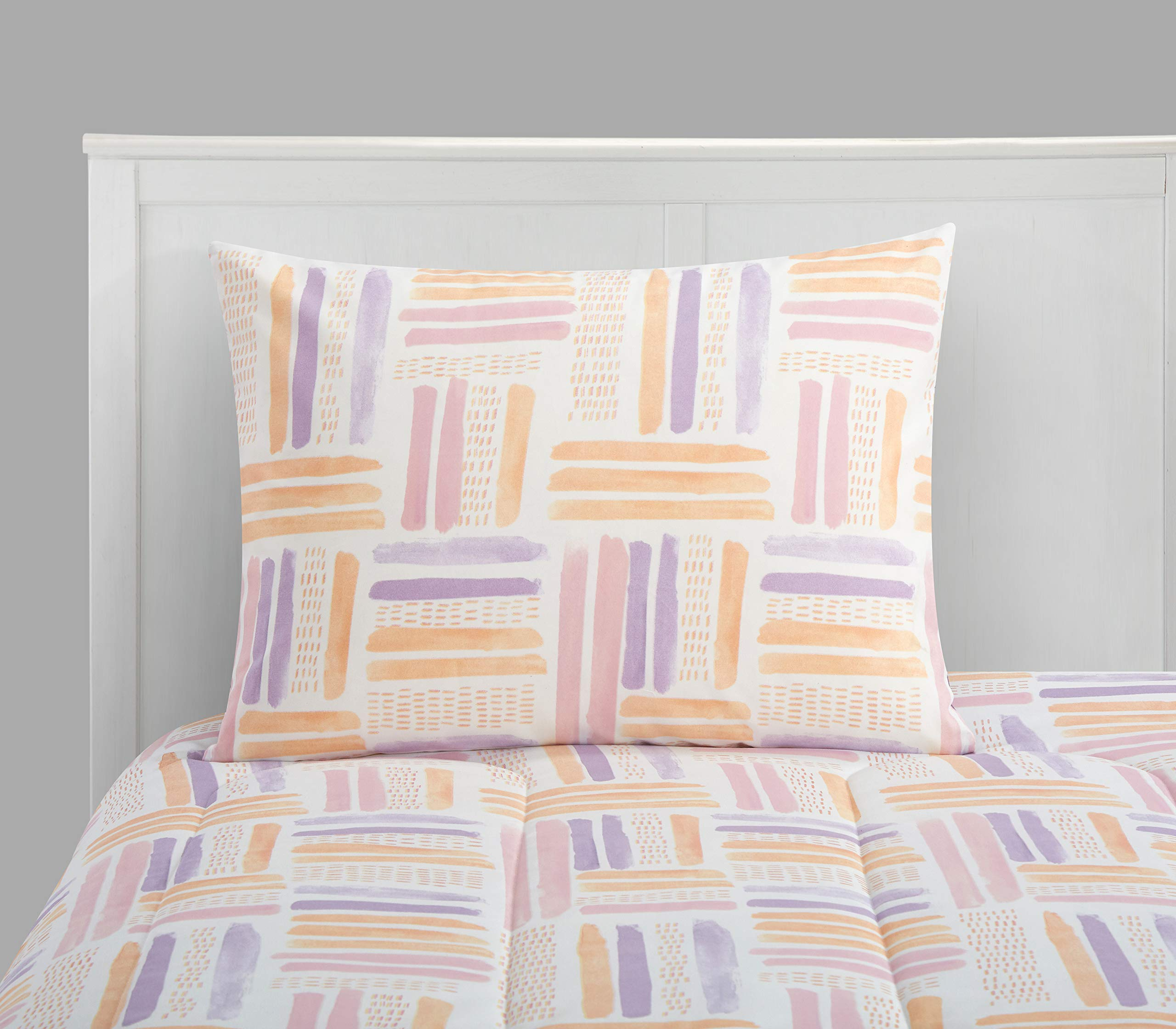 CDM product Pop Shop Laila Watercolor Bed in a Bag, Twin, Purple small thumbnail image