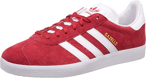 adidas gazelle bianche e rosse