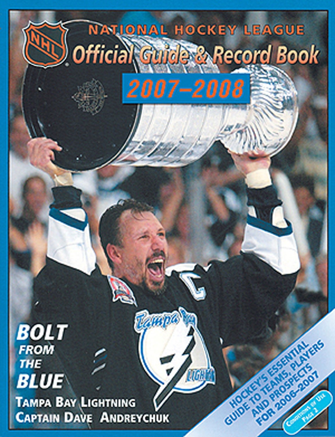 NHL Official Guide and Record Book (NATIONAL HOCKEY LEAGUE OFFICIAL GUIDE AND RECORD BOOK)