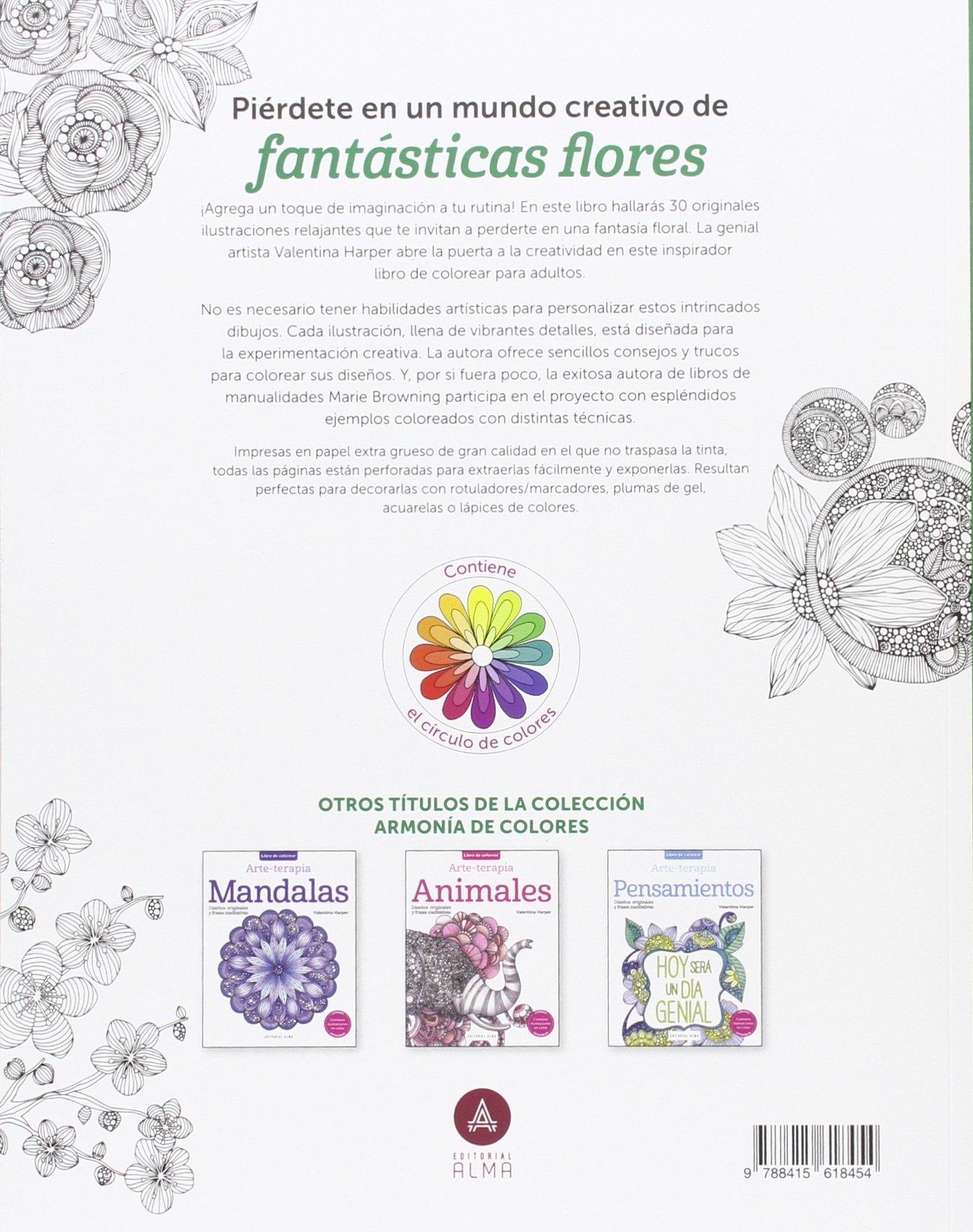 Flores (ArmonÃa de color): VALENTINA HARPER: 9788415618454: Amazon ...
