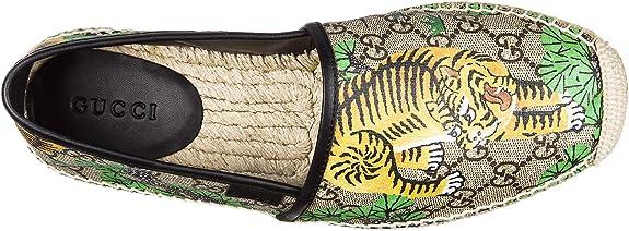 Gucci Espadrillas Hombre Nuevo GG Bengal Beige: Amazon.es: Zapatos y complementos