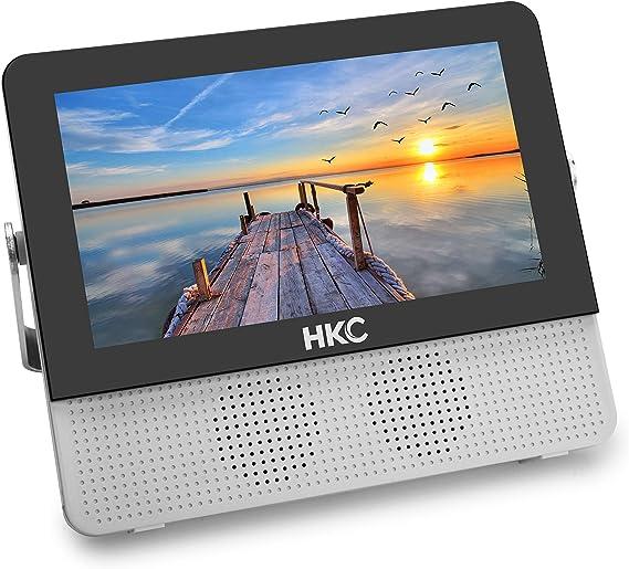 HKC P7H6 Mini TV portátil (TV HD de 7 Pulgadas) HDMI + USB, 60Hz ...