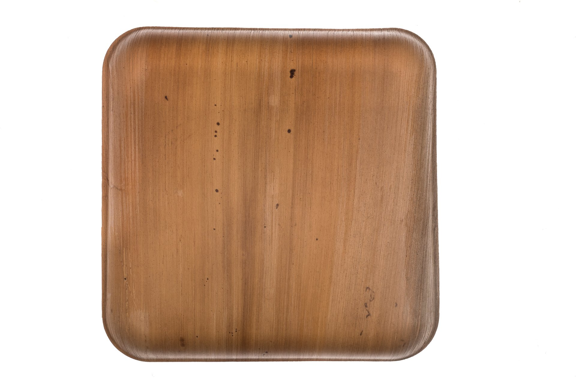 """9"""" Square Palm Leaf Plates - Pack of 25 - Disposable, Compostable, Natural, Tree Free, Sustainable, Eco-Friendly - Fancy Rustic Party Dinnerware and Utensils Like Wood, Bamboo by Clean Earth Goods (Image #9)"""