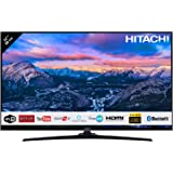 "Téléviseur HITACHI 32HE4000 32"" (80cm) 16/9 Full HD 1080p / Smart TV/Netflix / Youtube/WiFi / 3 HDMI/FRANSAT / USB/Alexa / Bluetooth"