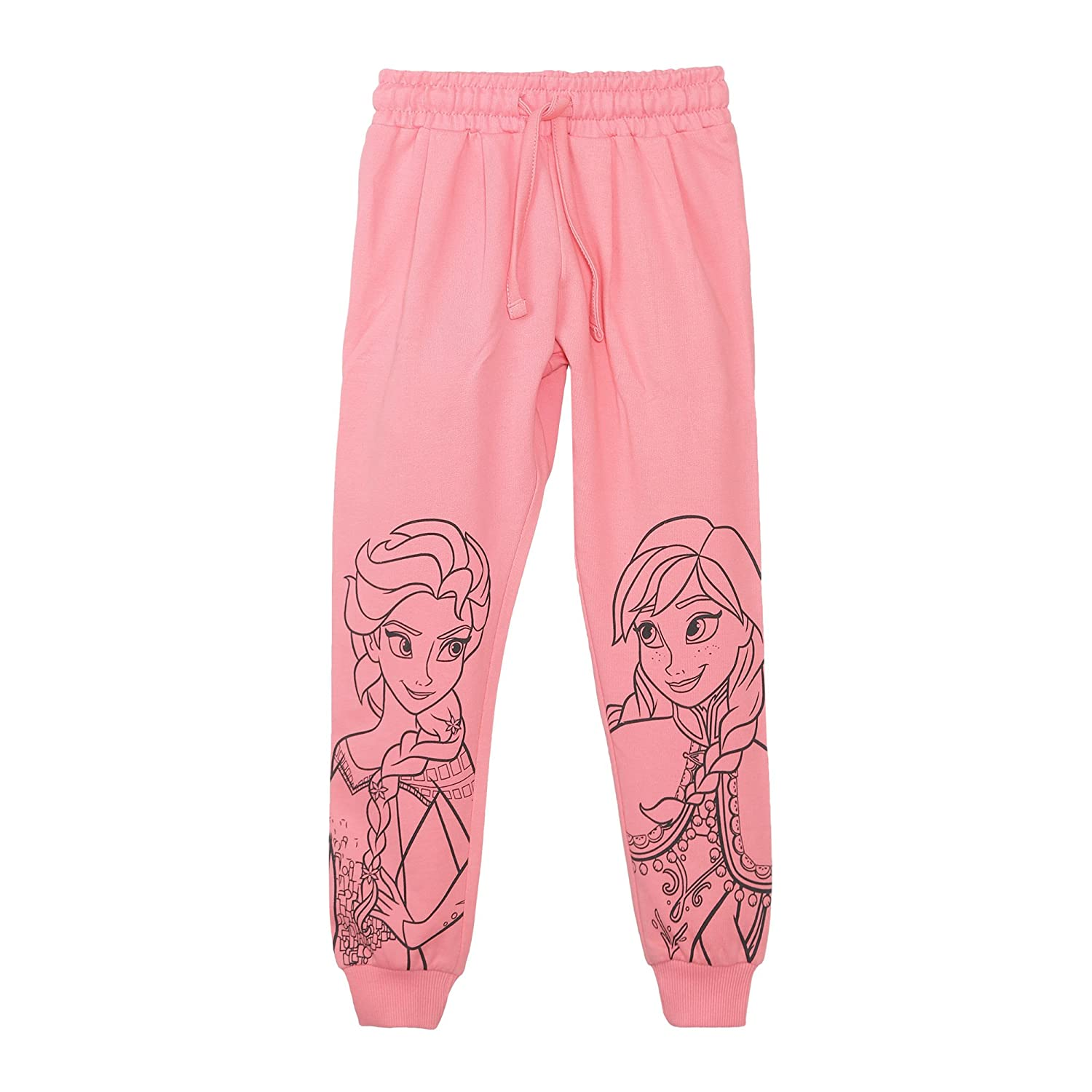 0ab8826e2 Disney Frozen Girls' Relaxed Regular Fit Cotton Trousers: Amazon.in:  Clothing & Accessories