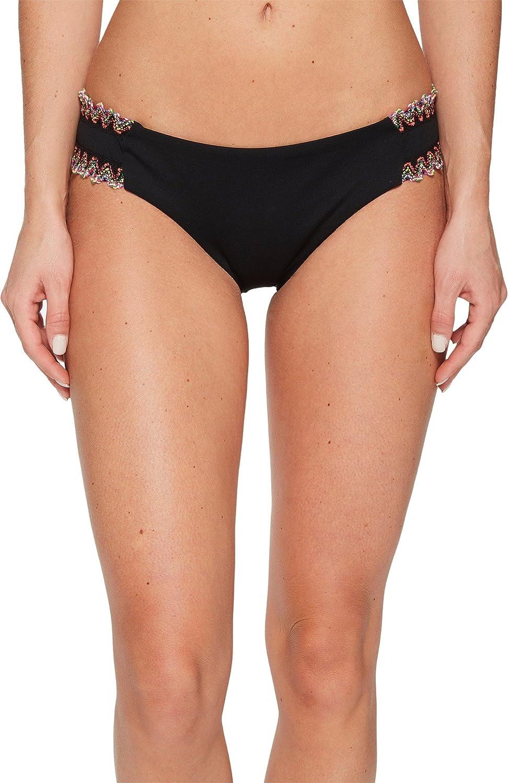 Becca by Rebecca Virtue Women's Mardi Gras Tab Side Hipster Bikini Bottom