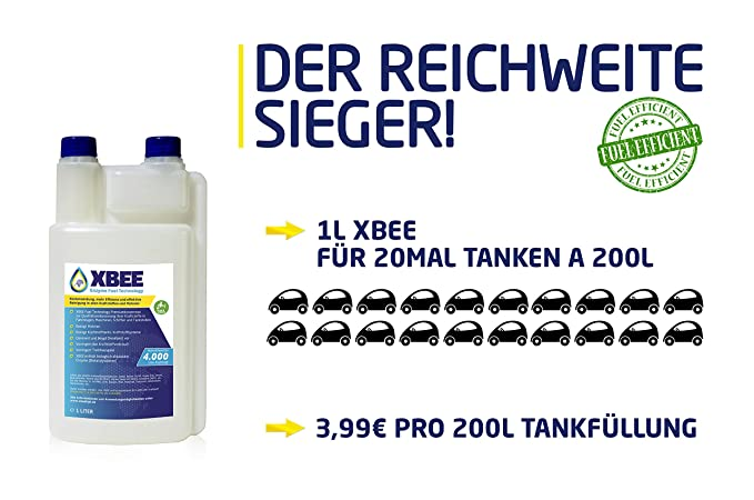 XBee - Tecnología de enzimas para combustible,1 l, sin ...