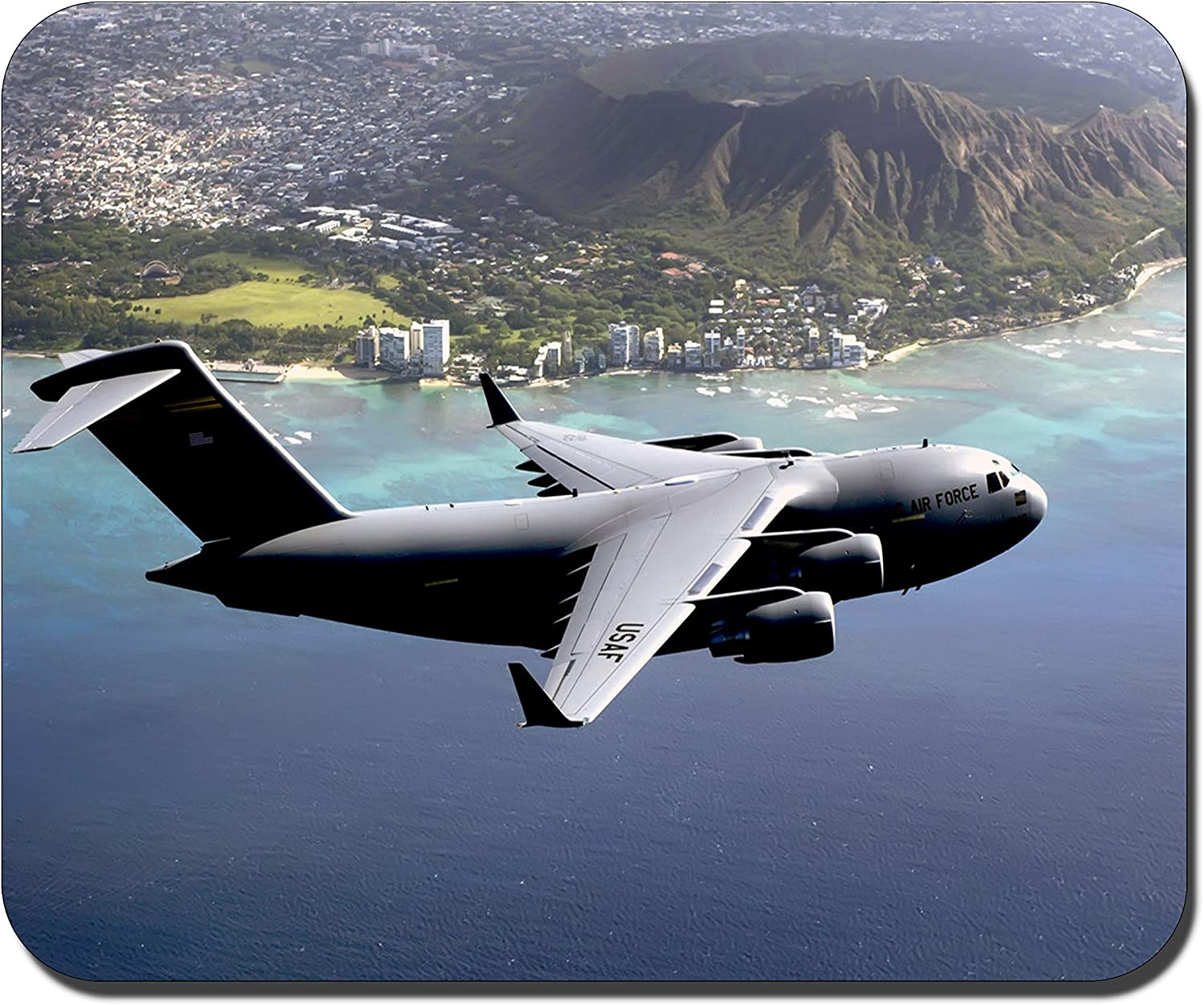 U.S Air Force Personalized Rectangle Gaming Mouse Pads Size:9.4 x7.9 RB277-7