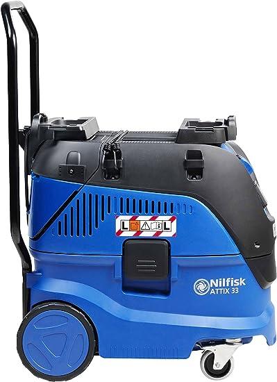 Nilfisk ATTIX 33 30L 1400W Negro, Azul - Extractor de polvo (30 L ...
