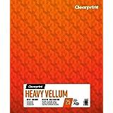 Clearprint Heavy Vellum Pad, 48 LB, 180 GSM, 14 x 17 Inches, 25 Sheets Per Pad, 1 Each (26321512011)