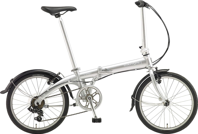 DAHON(ダホン) Vybe D7 インターナショナルモデル フォールディングバイク 20インチ 2019年モデル [外装7段変速 アルミフレーム] ABA071  マッハシルバー B07JFD6S7G