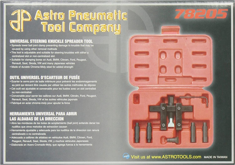 Astro Pneumatic Tool 78205 Universal Steering Knuckle Spreader Tool