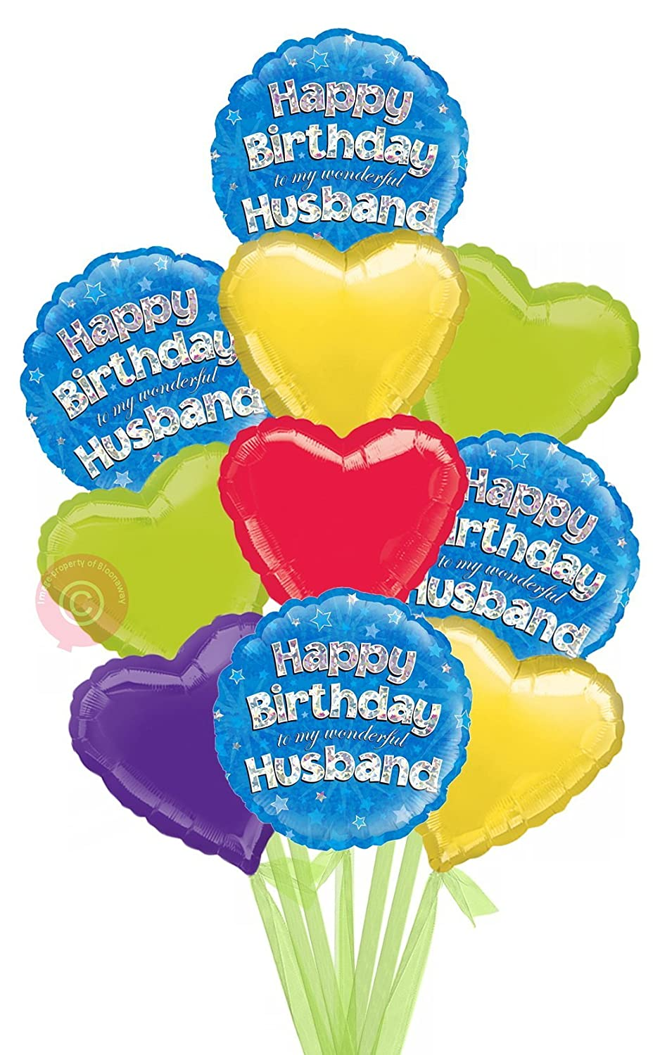 Happy Birthday Husband Holographic