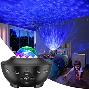 KPCB Tech Galaxy Projector Light 3 in 1 Starry Night Sky with Nebula Star and Moon USB Operated