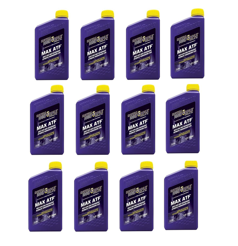 ロイヤルパープルMax ATF Synthestic Transmisson流体 – ( Case 12ボトルBuy in aケースと保存 B002GZHTT2