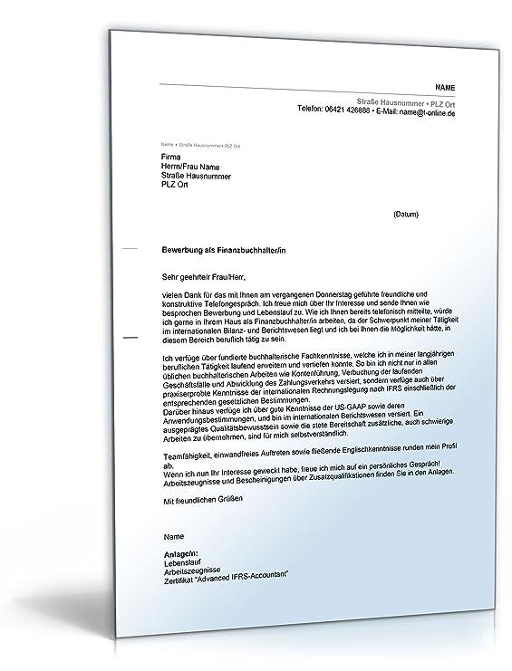 anschreiben bewerbung finanzbuchhaltung word dokument download amazonde software - Teamfhigkeit Bewerbung