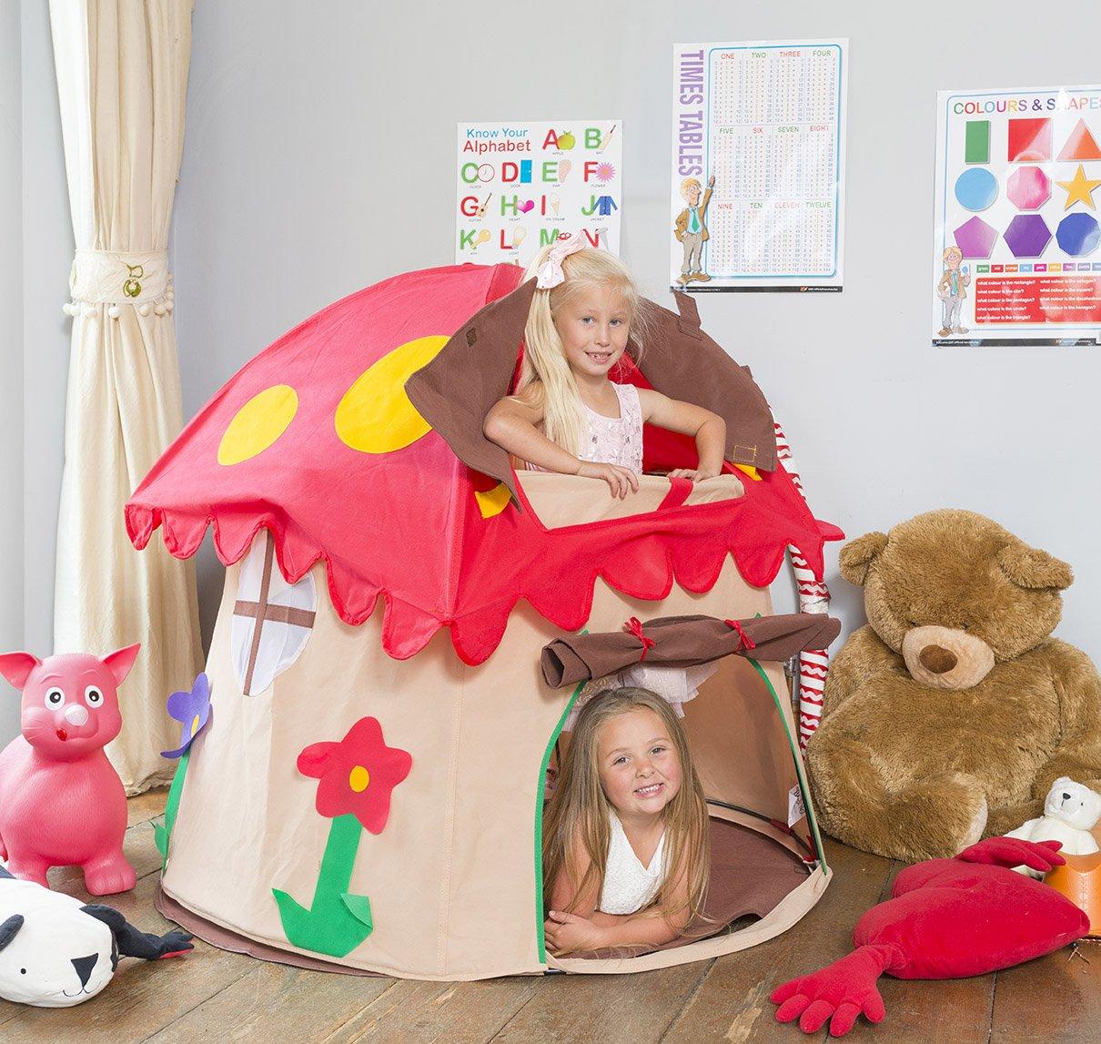 Bazoongi Special Edition Mushroom Play Tent Amazon.co.uk Toys u0026 Games  sc 1 st  Amazon UK & Bazoongi Special Edition Mushroom Play Tent: Amazon.co.uk: Toys ...