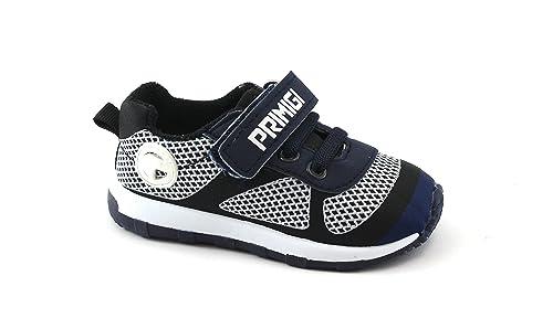 finest selection f62c7 f5125 Primigi 1446233 Blu Scarpe Bambino Strappo Elastici Sneaker Tessuto