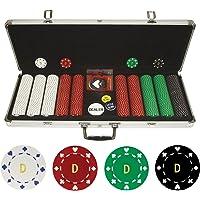 Trademark Poker Personalizado Monograma 50011,5Gm fichas en Caso